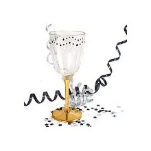 Bicchiere  Decoro oro