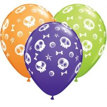 Palloncini Halloween mix colori  (6 pz)