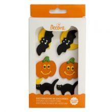 Decorazioni Halloween in zucchero 6 pz