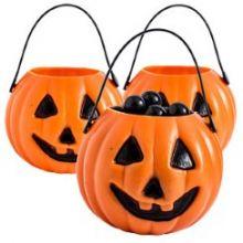 12  contenitori Halloween zucca