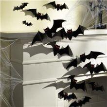 Addobbi Halloween Pipistrelli 30 pz