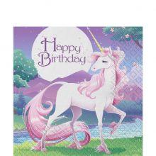 Tovaglioli di Carta Unicorno (16 pz)