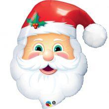 Paloncno Faccia Babbo Natale 80 cm