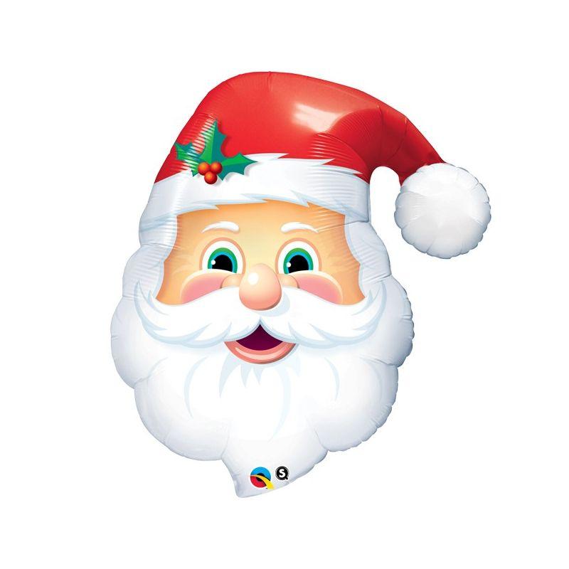 Immagini Viso Babbo Natale.Paloncno Viso Babbo Natale 80 Cm Per La Tua Festa Di Natale