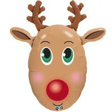 Paloncno di Natale Rudolf da 90 cm