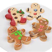 Cialde per Biscotti Omino di Pan Zenzero