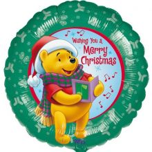 Palloncino Natale Winnie The Pooh