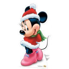 Sagoma MInnie Natale  99 cm