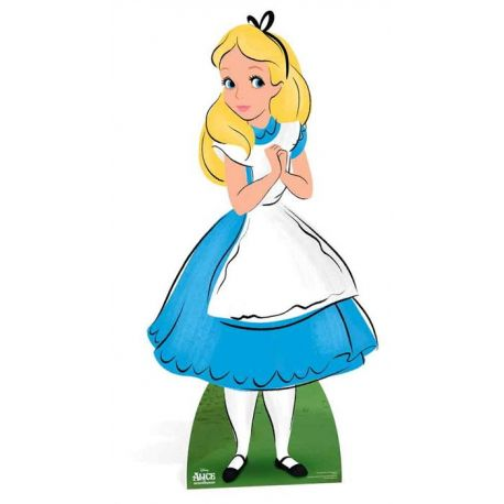 Alice - Sagoma in cartone