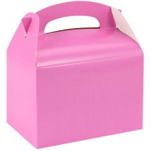 Scatola tipo food box color Rosa