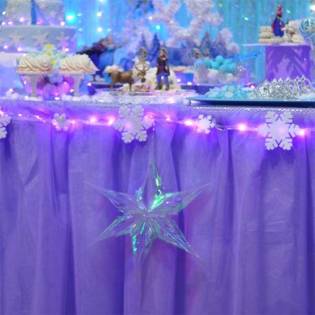 Tulle violetto per gonna tavolo (al metro H 3)
