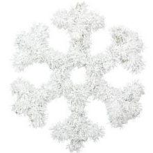 Decorazione Fiocco di Neve 33 cm