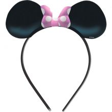 Cerchietto Orecchie Minnie 4 pz