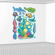 Decorazioni Murali Pesci e Conchiglie