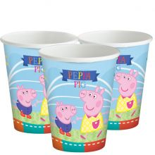 Festa Peppa Pig Bicchieri di Carta