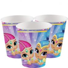 Piattini Shimmer and Shine (8 pz)