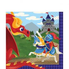 Festa Cavalieri Medievali Piattini di Carta dessert