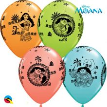 Palloncini Oceania in Lattice (8 pz)