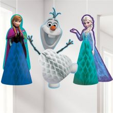 Decorazione Frozen Honeycomb (3 pz)