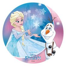 Cialda  Disney Frozen Elsa e Olaf
