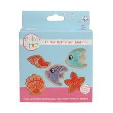 Tagliapasta pesci con imprimi decori Soggetti mare