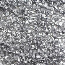 Cristalli di zucchero color Argento