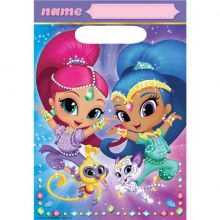 Sacchetti Party Shimmer And Shine (8 pz)