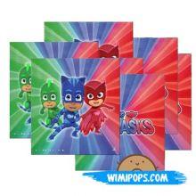 Tovaglioli  Super Pigiamini (20 pz) Festa PJ Masks