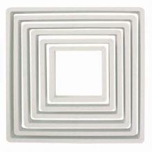 Tagliapasta quadrati Set da 6 pz da 5 a 12 cm