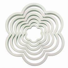 Tagliapasta a Fiori Set da 6 pz da 5 a 12 cm