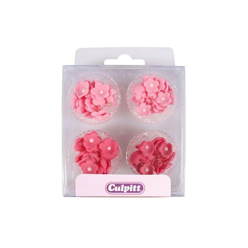 Mini Fiori di zucchero Rosa e Fucsia