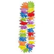 Collana Fiori di Ibisco colorati