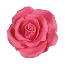 Rose in zucchero color Rosa Intenso 5 cm ( 2 pz)
