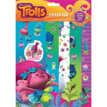 Trolls Sticker Fun - Gadget Bambini
