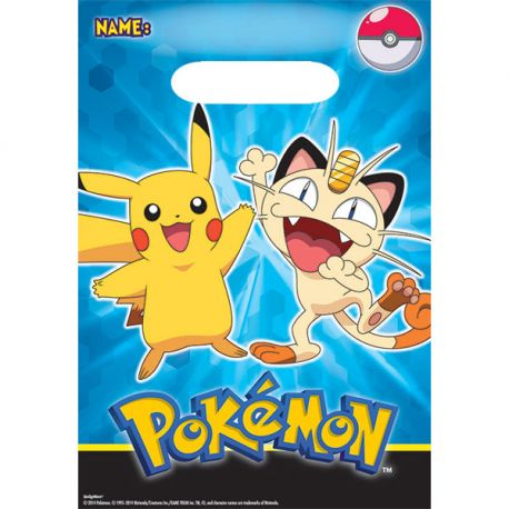 Pokemon Borsine Party ( 8 pz) - Wimipops
