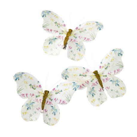 Farfalle con clip ( 6 pz)