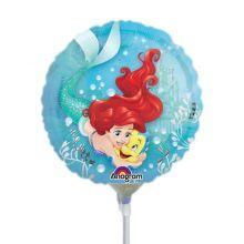 Palloncino Ariel tondo Mini Shape 23 cm