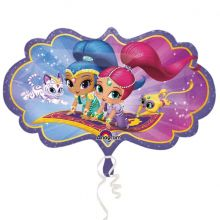 Palloncino Shimmer and Shine Mini Shape