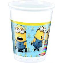 Bicchieri di carta Minions Lovely (8 pz)