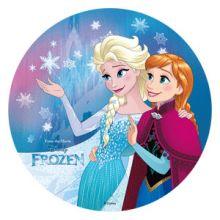 Cialda  Disney Frozen Anna e Elsa