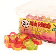 Caramelle  alla fragola Haribo Maxi pacco 1 Kg
