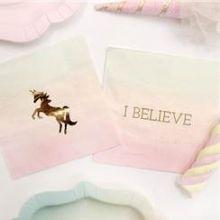 Tovagliolini Unicorno (16 pz)