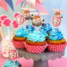 Kit Pirottini e Topper Cupcakes Skye