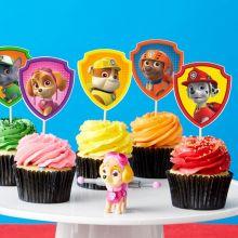 Topper Cupcakes Paw Patrol Fai da Te