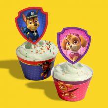 Avvolgi Cupcake Paw Patrol Fai da Te