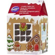 Set 5 Tagliapasta Villaggio Gingerbread