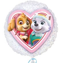Palloncino Paw Patrol Skye ed Everest Inverno