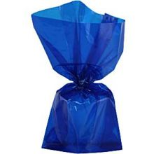 Sacchetti Party in Cellophane Blu (25 pz) 24 cm