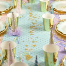 Stelline decorative Oro e Bianco panna