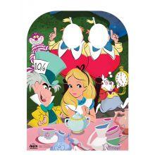 Scenografia Festa Alice in Wonderland e Stand Foto